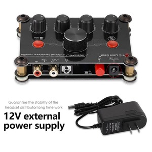 Image 4 - Piccolo Orso P14 Mini Ultra Compatto 4 Channel Stereo Headphone Amp Amplificatore di Studiophile Black & Red