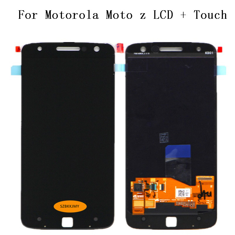 Tracking No 100 tested For Motorola Moto Z xt1650 LCD For moto Z XT1650 Display LCD