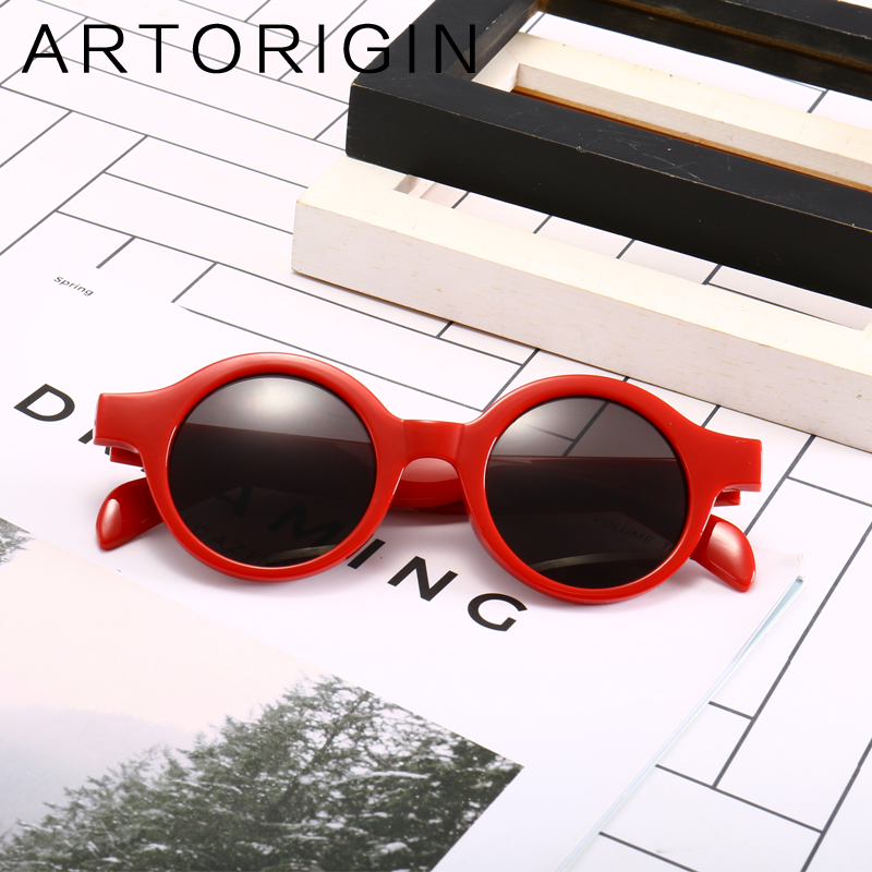 ARTORIGIN Brand Round Sunglasses Women Same Stars Ladies Sun Glasses Female Eyewear Oculos Gafas Lunette Korean Style