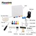 Plavetink 4 Цвета Универсальный чернильный бак СНПЧ для HP 121 122 123 301 302 304 300 21 22 140 141 650 62 901 XL чернильный картридж принтера