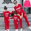 Family Style Angel Mother Daughter Clothes Mom and Daughter Clothes Family Clothing Set Parent-Child Clothing Family Set 3XL TL6