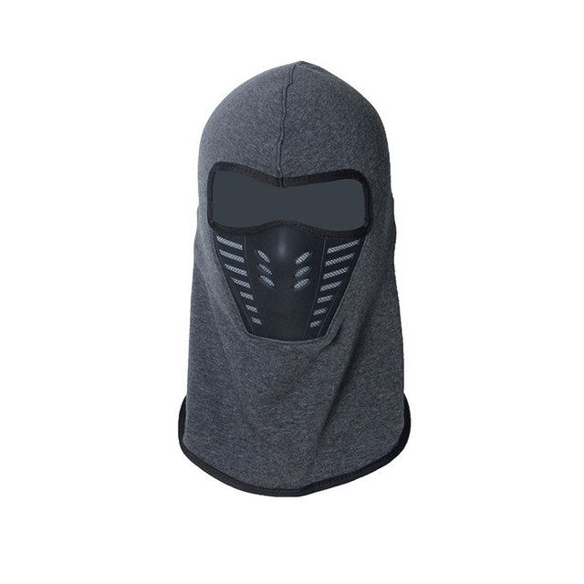 Winter Warm Motorcycle Windproof Face Mask Motocross Face masked Cs Mask Outdoor Sport Warm Bicycle Thermal Fleece Balaclavas 2