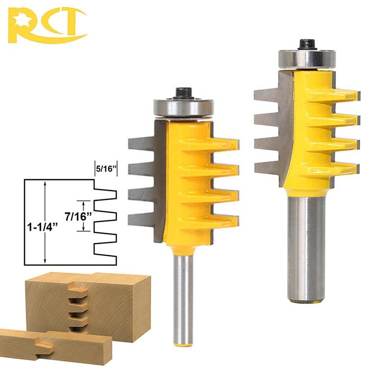 RCT Guida Reversibile Finger Joint Colla Bit Router 1/2