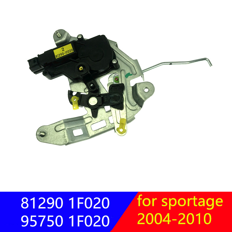 81290-1F020Tailgate Rocker Arm Assembly Rear Lock Block Motor Controller Actuator For Kia Sportage 2004-2010 95750-1F020