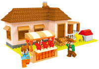 A Models Building toy Compatible with A28603 293pcs Farm Blocks Toys Hobbies For Boys Girls Model Building Kits