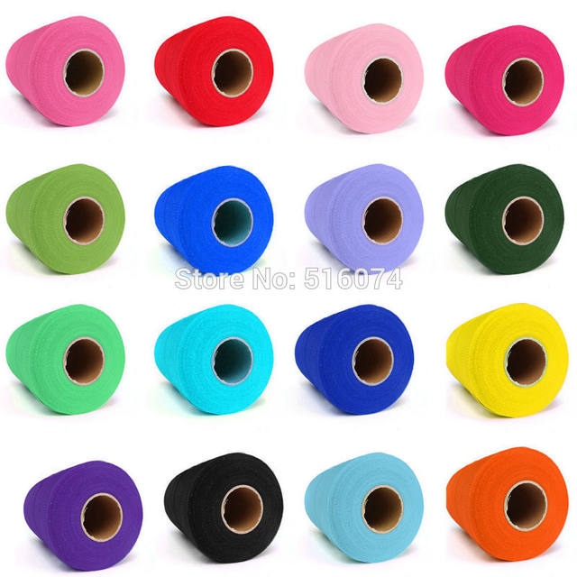 Online shop 26 colors hot sale decorations c tulle roll spool 26 colors hot sale decorations c tulle roll spool 6inch x 100yd wedding gift craft party tutu bow craft vivid tulle diy negle Images