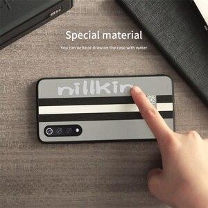 Image 4 - For Xiaomi Mi 9 Case Mi 9 Explorer Cover Nillkin Striped case PC PU leather Reflective Twinkling Back Cover Case For Xiaomi Mi9