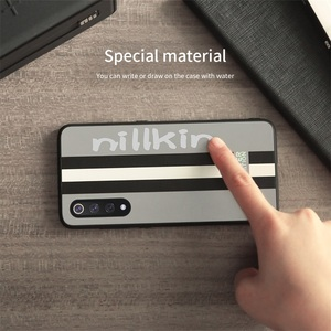 Image 4 - עבור שיאו Xiaomi mi 9 מקרה mi 9 Explorer כיסוי Nillkin פסים מקרה מחשב עור מפוצל רעיוני מנצנצים חזרה כיסוי מקרה עבור שיאו mi mi 9