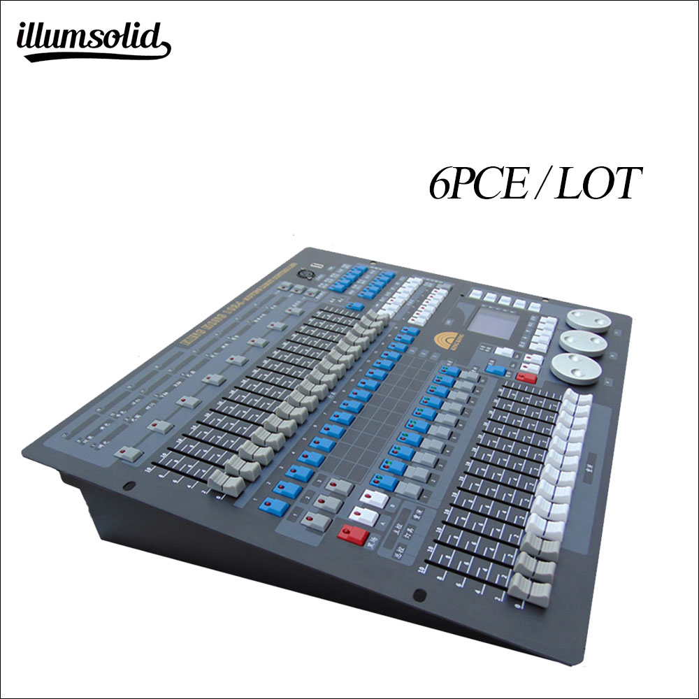 Stage Light Control 1024 DMX Console DJ Controller Equipment For Disco 6pieces/lot