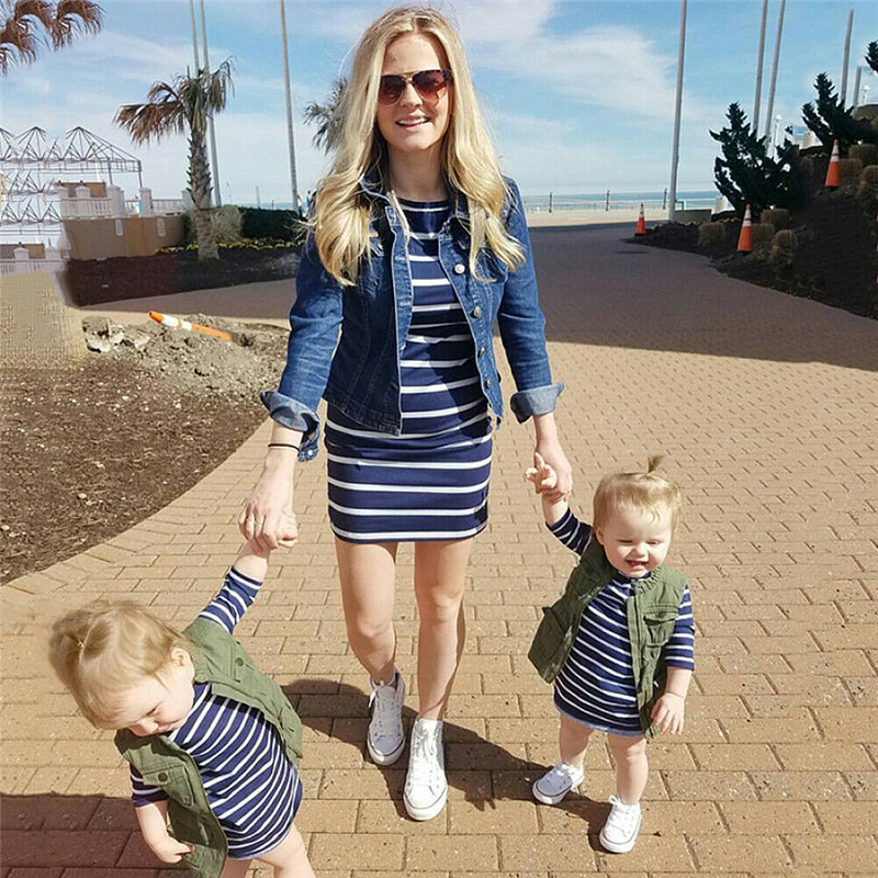mother daughter dresses family matching outfits mommy and