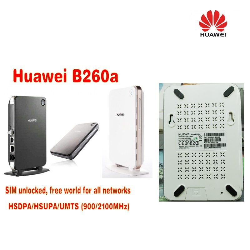 Huawei B260A Wifi Router Support HSDPA UMTS 900/2100Mhz GSM Quad Band huawei 3g modem router 3g mifi router vodafone huawei r201 hsupa 3g wifi router tri band 900 1900 2100 7 2mbps free shipping