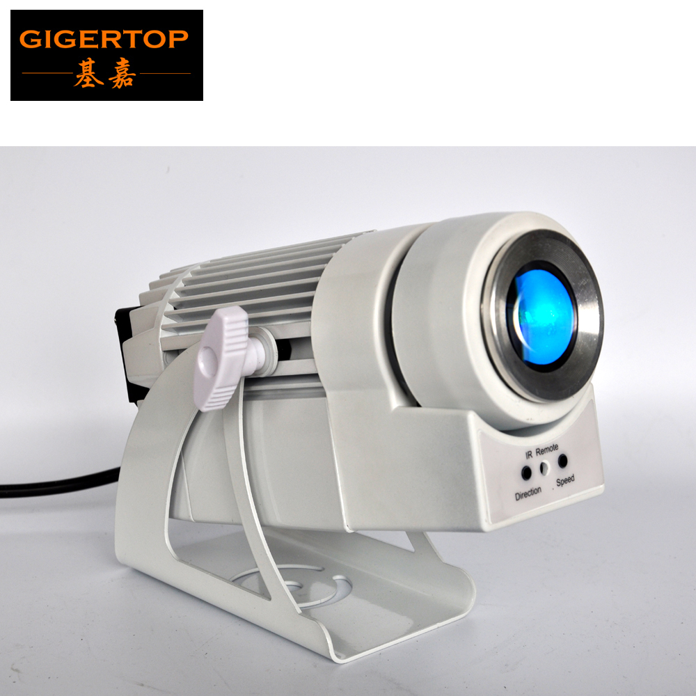 Gigertop Tp-hu526 12w Rgb Led Umbrella Lighting Silver Color Reflector Surface Dmx Controller Box Build In Program Party Wedding Commercial Lighting