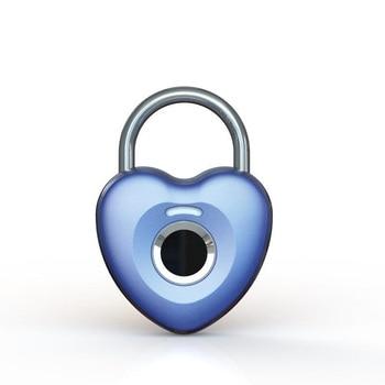 Standalone Biometric Smart Fingerprint Lock Bag Case Lock Safe USB Charging Waterproof Keyless Anti-theft Security Lock