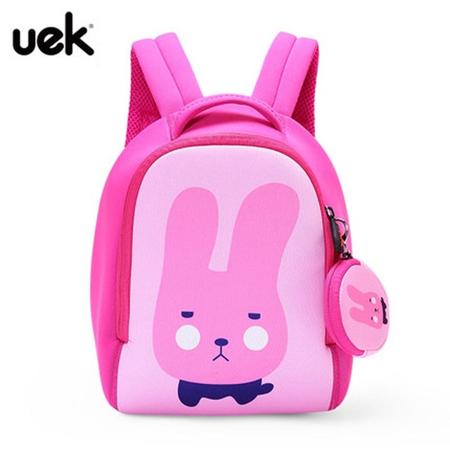 4f2293d35bc New Cute Rabbit Children School Bags Backpack With Coin Bag Kindergarten  Girls Boys Baby Kids Backpack Waterproof Schoolbag