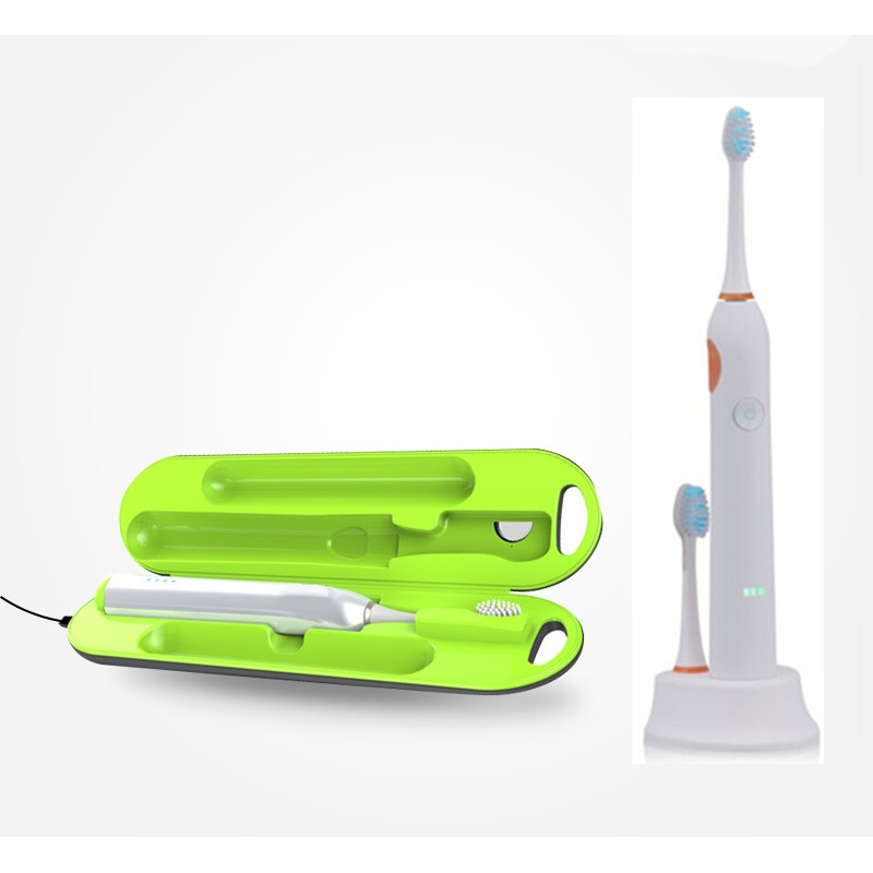 Chargeable electric toothbrush Acoustic Wave brush home oral care Toothbrush Cleaner Toothpaste Holder Sterilizer tool недорого