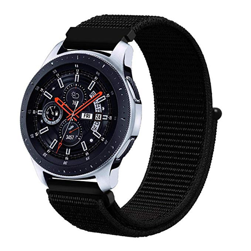 22mm 20mm Nylon Strap For Samsung Galaxy Watch 46mm 42mm Active 2 Gear S3 Classic Band For Huami Amazfit Bip Huawei Gt 2 Bands