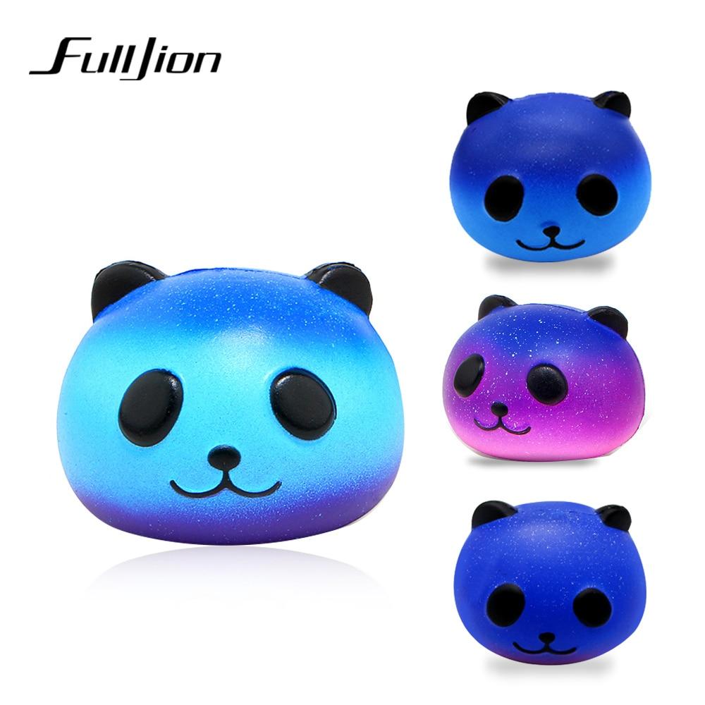 Fulljion мягкими замедлить рост антистресс весело Panda развлечение для снятия стресса игрушки гаджет Новинка Gag Squeeze телефон шарм подарки