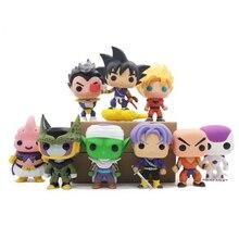Anime Dragon Ball Z Character 10cm Model Action Figure Toys