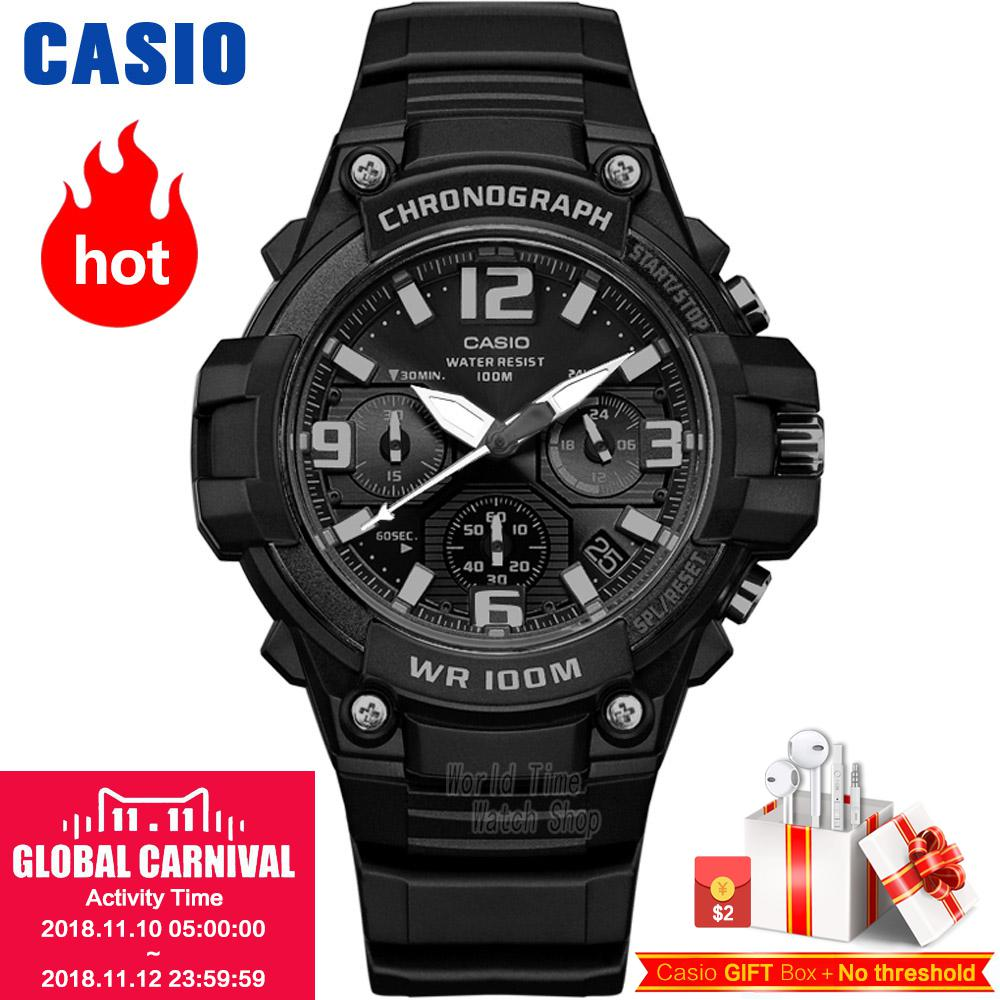 Casio watch Comfortable casual fashion simple neutral student watch MCW-100H-1A3 casio gst w130bc 1a3