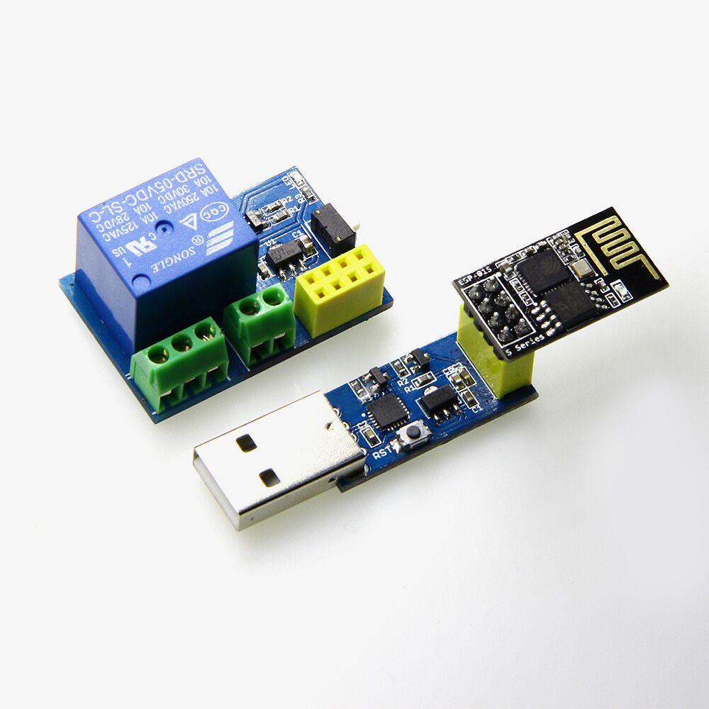 3 Piece New Mini WIFI 5V Relay + ESP-01S link V2.0 + ESP-01S for D1 mini 10pcs esp8266 esp 01s wireless module wifi sensor for arduino esp 01 advanced version