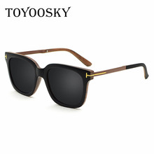 TOYOOSKY Classic Men's Polarized Mirror Sunglasses Male Driving Sun Glassses For Women Eyewear Unisex Coating Glasses Oculos