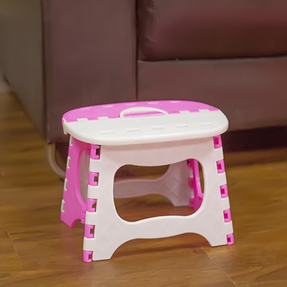 Folding Step Stool Portable Home Outdoor Foldable Bench Mini Seat Small Chair