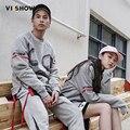 VIISHOW Homens Hoodies do Pulôver Roupas de Marca Mens Treino Hoodies E Camisola Casal Camisola Para Os Amantes do Hip hop Streetwear