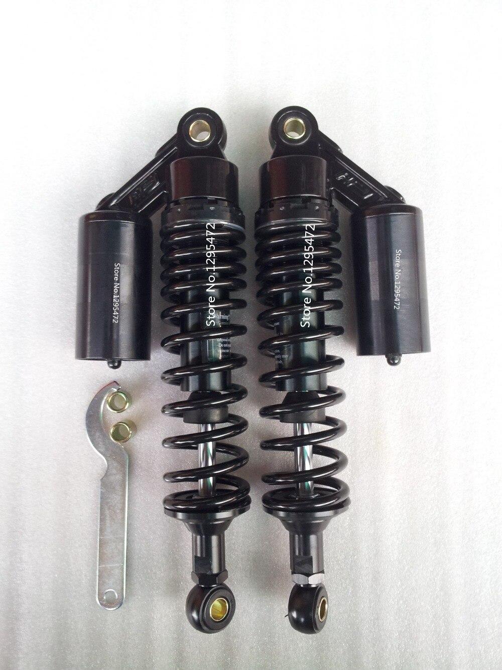 Новые все черный 340 мм 8 мм весна задние воздуха Амортизаторы для cb400 99-11 vtec 92-98 sf xjr400 грязи Gokart ATV мотоцикл