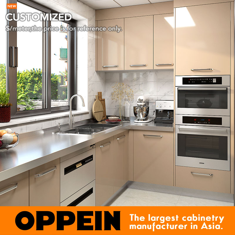 Oppein Wet And Dry Stainless Steel Kitchen Cabinet With Stainless Steel  Countertop (OP17 ST02) On Aliexpress.com | Alibaba Group