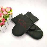 Amazon snelle selling Ebay bont een flesh schapenvacht handschoenen, hand cover, winter en winter outdoor riding, warmte behoud
