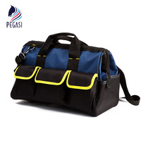 PEGASI Toolkit High Quality Multi Purpose Electrician Single Shoulder 19 Pockets Large Capacity Thicken Professional Tool