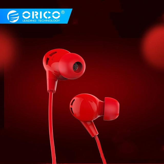 ORICO Profession In-ear Earphone Colorful Headset Earbuds Bass Earphones for iPhone 6 6S 7 8 Xiaomi Ear Phones fone de ouvido