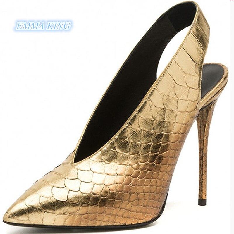 2731b8944 котенок обувь кристалл ремень женщина Указательный палец Насосы Mary ...
