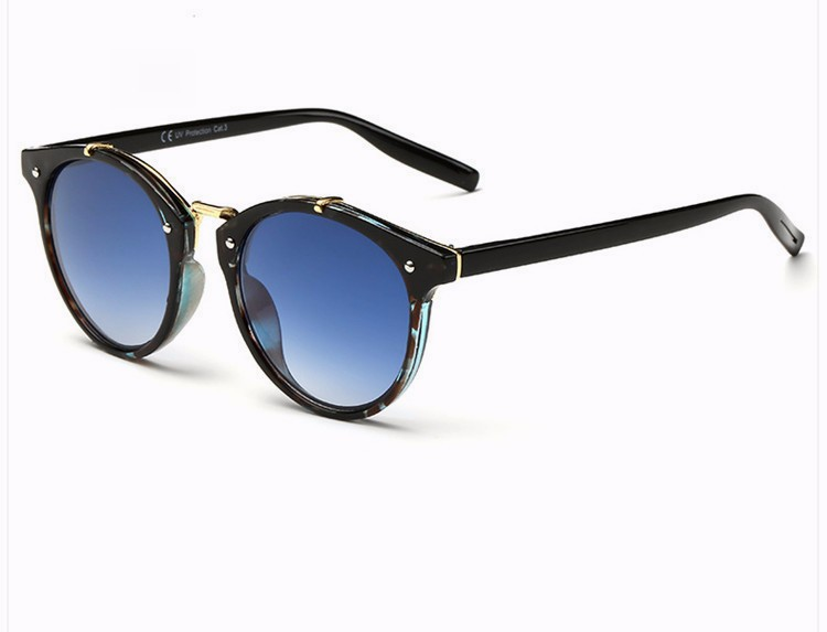 Fashion Vintage Round Sunglasses Women Men Brand Designer Retro Mirror Sunglass Ladies Female Male Sun Glasses For Women Glasses (13)