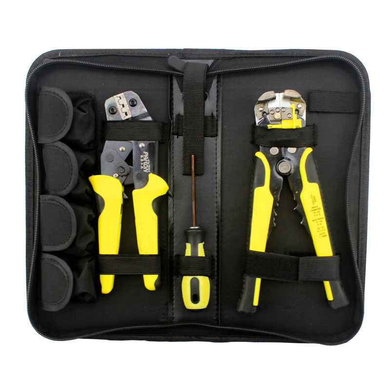 KALAIDUN Multitool Crimper Automatic Strippping Pliers Cable Wire Stripping Crimping Engineering Ratchet Terminal Crimping Tools