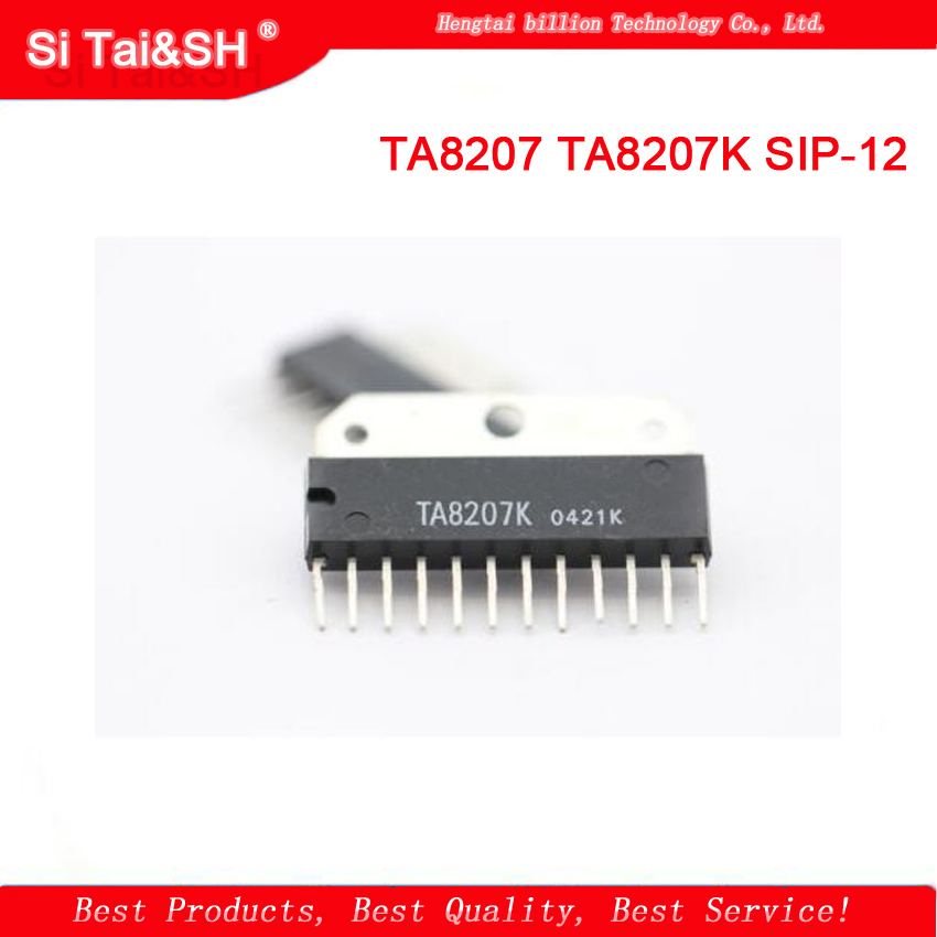 genuine original ta8207 ta8207k sip 12 audio power amplifier audio amplifier circuit integrated. Black Bedroom Furniture Sets. Home Design Ideas
