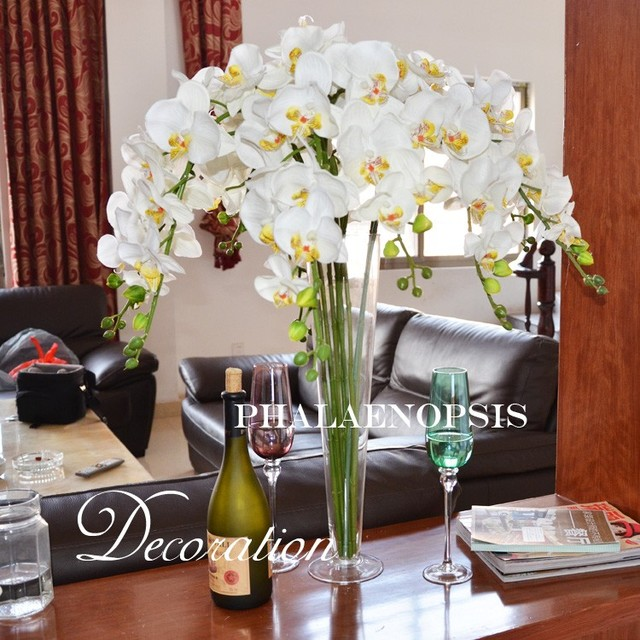 flowers on dining table aliexpresscom buy wedding table flowers high quality artificial