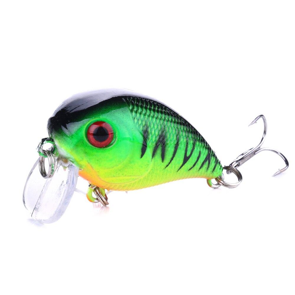 HENGJIA 1pcs 4.5cm 7.3g Crankbait Fishing Lures Wobblers Hard Baits Minnow Fishing Tackle