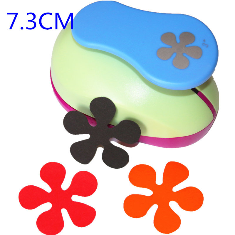 1.5cm-7.3cm New Flower Shape Of Craft Punch Paper Punches Scrapbooking Punchers DIY Handmade Paper Cutter EV Foam Hole Punch