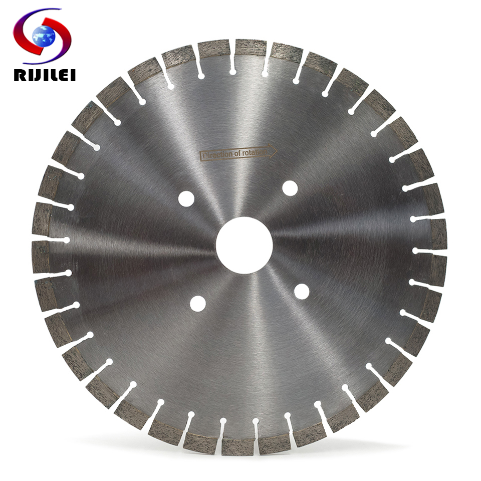 RIJILEI 350MM Diamond cutting saw blade for granite marble stone profession cutter blade Concrete cutting circular Cutting Tools-in Saw Blades from Tools