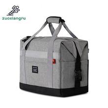 Сумка для пикника на открытом воздухе, сумка-холодильник, ткань Оксфорд, двухслойная, водонепроницаемая, на вынос, алюминиевая фольга, изоляционная, для ланча, холодная коробка, сумки для пикника