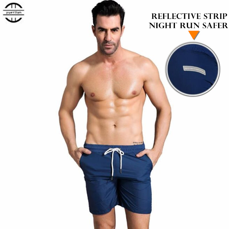 200pcs Men Exercise Fitness Holiday Casual Shorts Quick-dry Wicking Ultra-thin Light Loose Board Beach Shorts Summer Sweatpants