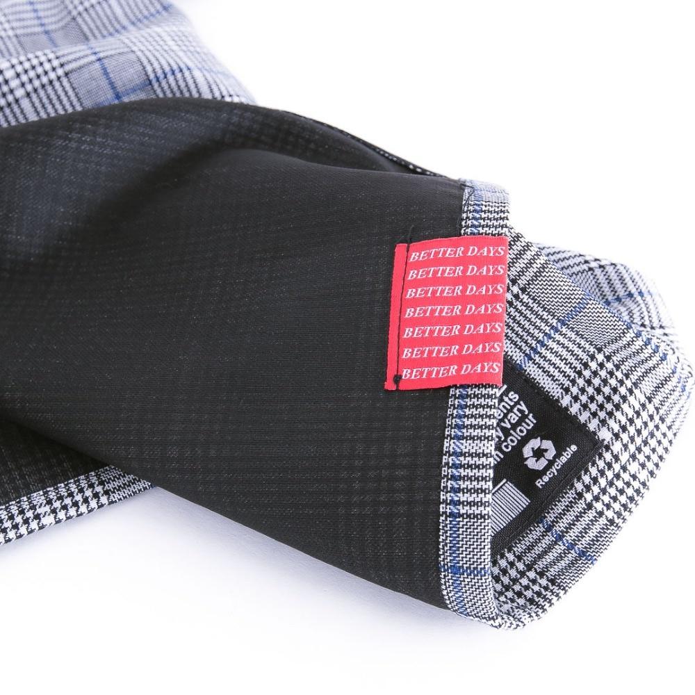 À Bf Hit bleu Hip Couleur Rouge Costume Manteau Mode Zipper Taille Pantalon De Élastique Vintage Personnalisé Carreaux Rue Hop qPUaaA