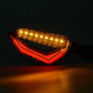 Image 5 - אוניברסלי אופנוע Motobike LED זנב אור הפעל איתותים להונדה CB CBR 300 599 600 600F 1000 1000R 1100 650F