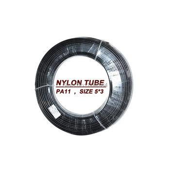 3mm * 5mm-5 m-ID3-wysokiej jakości specjalny wąż paliwowy z nylonu PA11 tanie i dobre opinie AlwayTec Zbiorniki paliwa 0 2kg fuel line nylon tube 1995-2015 Iso9001 5 meters 3mm*5mm All car black Fuel assembly Universal