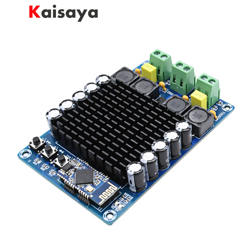 цена на XH-A102 New 4.1 HD Bluetooth TDA7498 DC12-24V 100W + 100W high power digital amplifier board B6-002