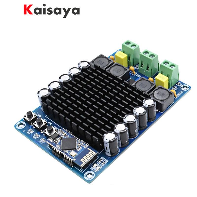XH-A102 New 4.1 HD Bluetooth TDA7498 DC12-24V 100W + 100W high power digital amplifier board B6-002 marbo mh a102