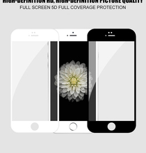 5D Protective Glass for iPhone 6 6S full screen Tempered Screen Protector Protective Glass for iPhone 6 6S Screen Protector film стоимость