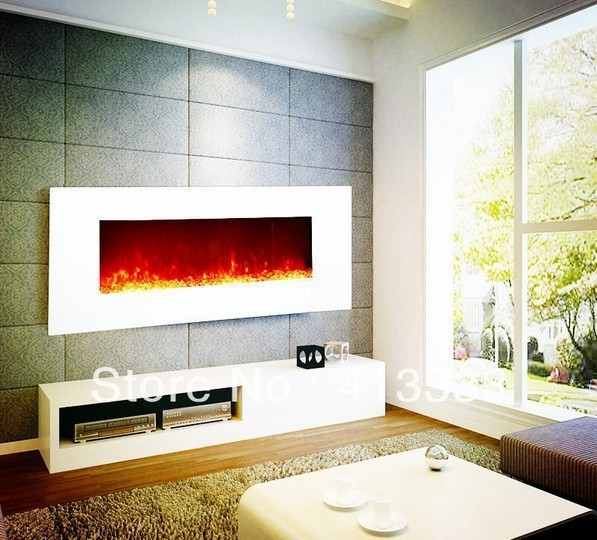 White Electric Fireplace With Led Flame In Fireplaces From Home Liances On Aliexpress Alibaba Group