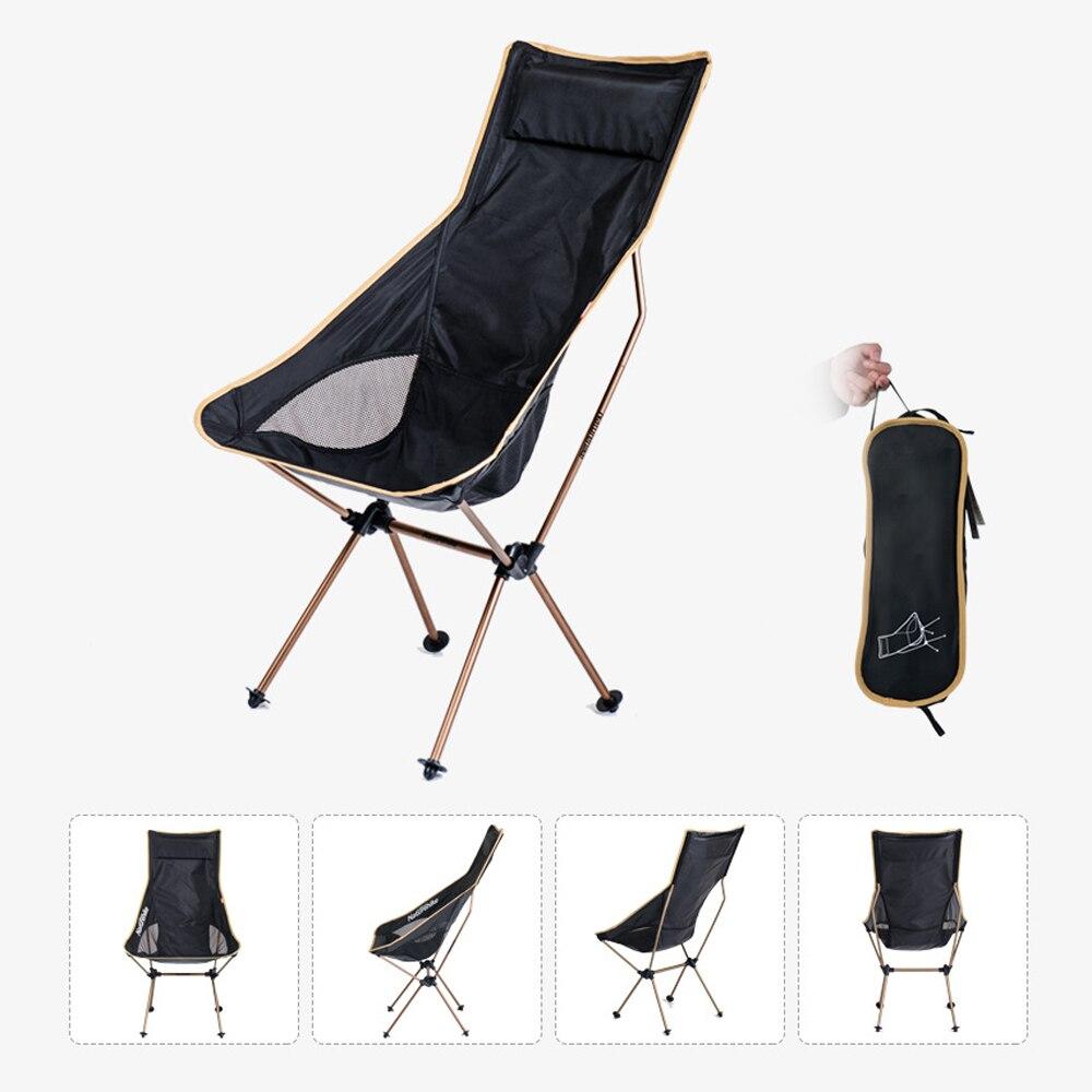 Naturetrekking léger Portable en plein air Compact en aluminium pliable chaise de Camping meubles chaise pliante pêche Camping pique-nique